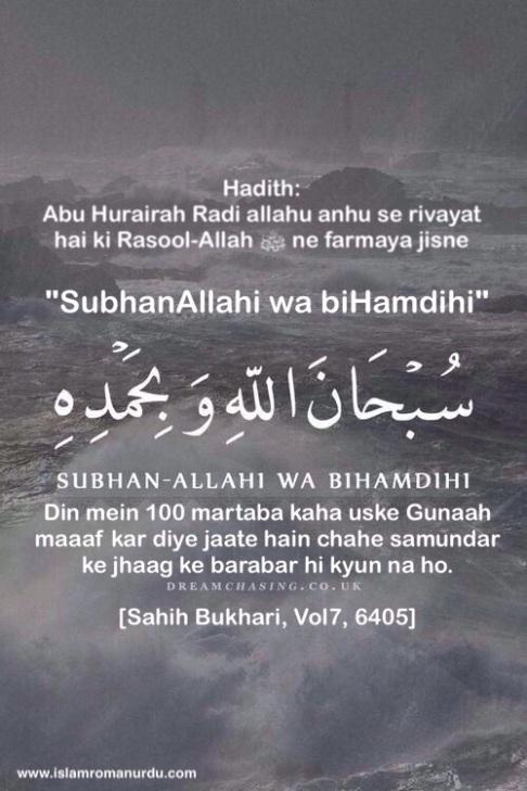 Subhan-Allahi Wa Bihamdihi
